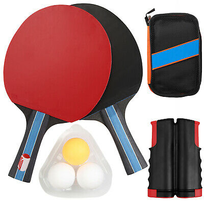 Table Tennis Game Instant Indoor Portable Travel Ping Pong Ball Set Extendable • 16.99£