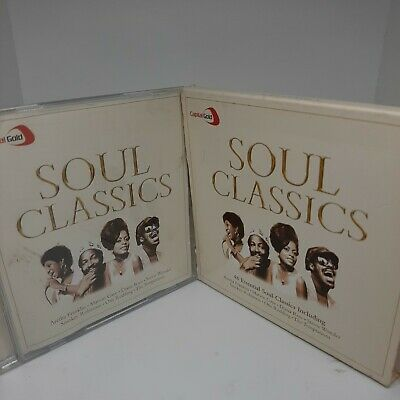Capital Gold Soul Classics CD 2 Discs (2004) Incredible Value And Free Shipping! • 2.49£