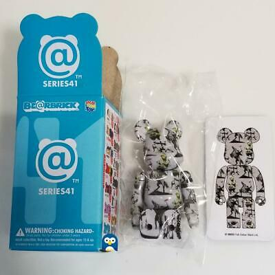 $85.99 • Buy Medicom Bearbrick Series 41 S41 Secret  Banksy Brandalism  Be@rbrick