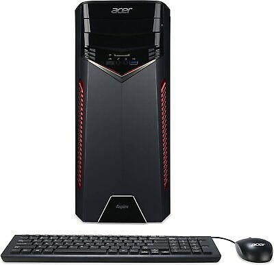 $ CDN630.36 • Buy Acer Aspire Gaming Desktop, AMD Ryzen 5, NVIDIA GeForce GTX1050, 8GB RAM,1TB HDD