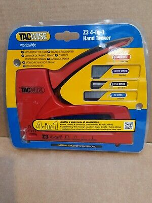 £5.85 • Buy Z3 4-in-1 Hand Tacker 1022 Buy Staples On Same Page, Free P&P
