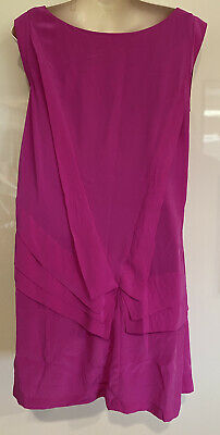 AU30 • Buy Forever New Pink Silk Dress Size 12