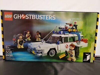Lego Ideas 21108 Ghostbusters Ecto 1 Vehicle Brand New 508 Pieces Building Toy • 108.53£