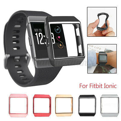 $ CDN9.93 • Buy TPU Silicone Screen Protector For Fitbit Ionic Frame Protective Cover Case J E