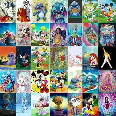 AU7.19 • Buy 5D Full Drill Diamond Painting Kits Character Home Art Decor Gifts Festival Gift