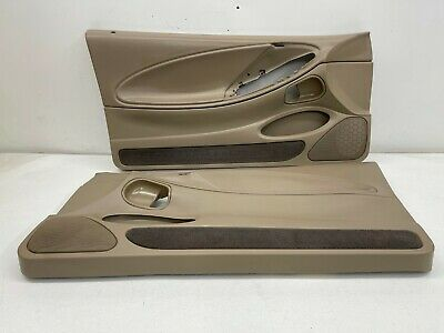 $200 • Buy 1999-2004 OEM Ford Mustang Tan Front Door Panels Medium Parchment |S9206