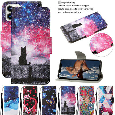 AU6.06 • Buy For Apple Iphone SE 2020 6 7 8 XS Max Phone Leather Flip Card Wallet Case Cover