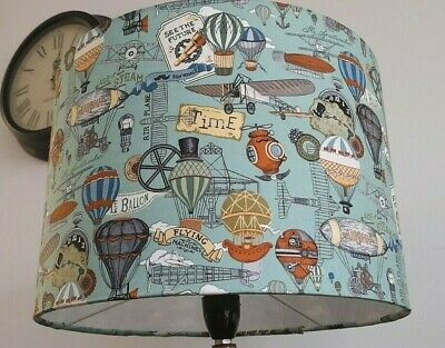 £29 • Buy TEAL BLUE VINTAGE BALLOONS  Lampshade Ceiling Pendant Table Lamp Large ART DECO