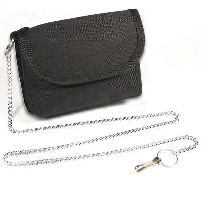 Protec NHS Secure Ward And HMP Prison Key Pouch With Security Chain • 13.49£