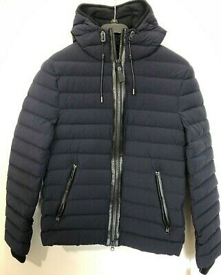 $210 • Buy Mackage Ozzy Hooded Quilted Down Jacket Black Size: 48