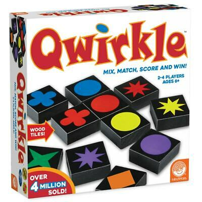 $ CDN44.23 • Buy Qwirkle Family Game Mix, Match, Score And Win! Tiles Game Mindware Hours Of Fun