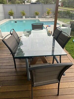 AU340 • Buy Outdoor Setting, Dining Table And 6 Chairs