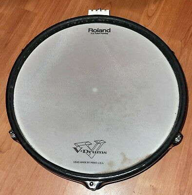 AU179.39 • Buy Roland PD-120 Snare Electronic Mesh Head V Drum White Shell