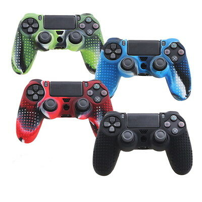 AU10.89 • Buy Camouflage Silicone Rubber Skin Grip Cover Case For PlayStation 4 PS4&Control WR