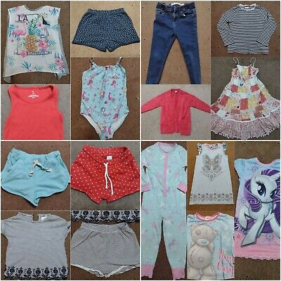 GIRLS CLOTHES AGED 5 YEARS 6 YEARS Build A Bundle Jeans Dress T-shirt Pjs Shorts • 1.85£