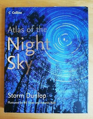 Collins Atlas Of The Night Sky (2005 Edition, Hardback) • 13£