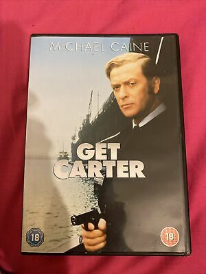 Get Carter 1971 Michael Caine DVD With Dvd Case Free Postage • 2.30£