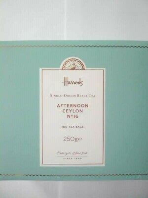 £15.95 • Buy Harrods Afternoon Ceylon Tea. 100 Bags. First Class Signed Delivery