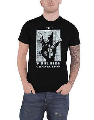Ice Cube T Shirt Westside Connection Logo New Official Mens Black • 13.79£