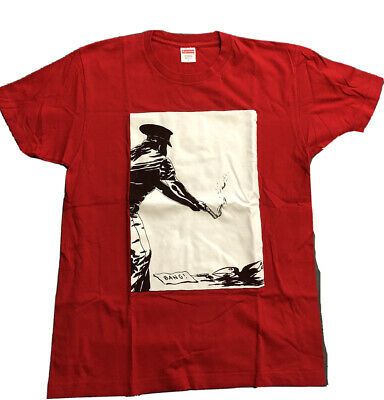 $ CDN79.38 • Buy Supreme, Red Bang Raymond Pettibon T-shirt, Size Large Black Flag Used