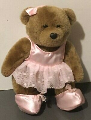 £14.50 • Buy BHS Ballet Dancer Brown Bear Pink Camisole Dress, Bow & Shoes