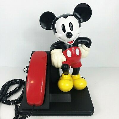 £25.14 • Buy Vintage 90's MICKEY MOUSE Landline Telephone AT&T Phone