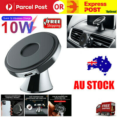 AU13.39 • Buy Qi Wireless Fast Charger Car Holder Gravity Mount For IPhone 12 11 X XS Max S9+