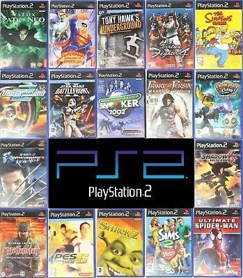 Sony PlayStation 2 PS2 Games M-Z Wholesale Pick Up Your Game Multi Buy Discount • 5.99£