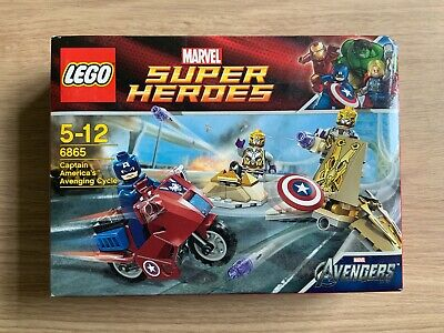 Lego Marvel 6865 Captain Americas Avenging Cycle • 30£