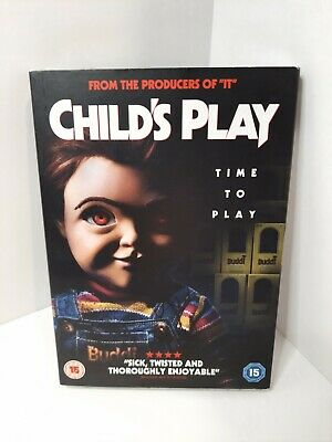 Horror. Child's Play, Time To Play DVD. Brand New/Sealed Plus Free P&P • 19.99£