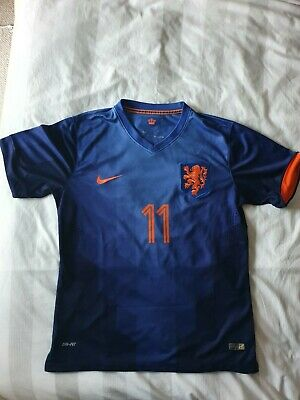 Netherlands Away Shirt 2014 Medium Holland • 35.99£