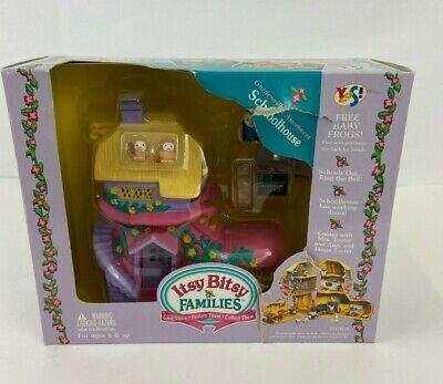$ CDN91.08 • Buy Teeny Weeny Families ~ Itsy Bitsy Gardenville Schoolhouse Playset NOS 1997 YES!