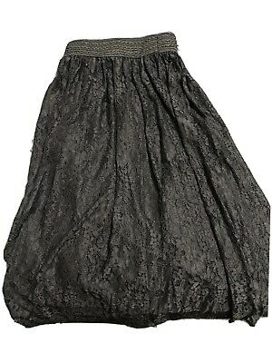 Net Skirt, Party Wear, In Black, Soft To Touch • 18£