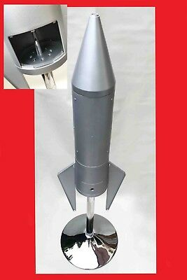 Sweet Machine Gumball Rocket Machine On Stand 20p Vend Retro Vintage Dispensing1 • 250£
