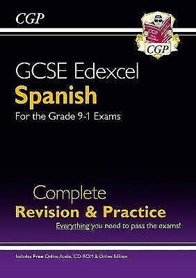 £10.98 • Buy New GCSE Spanish Edexcel Complete Revision & Practice (with CD & Online...