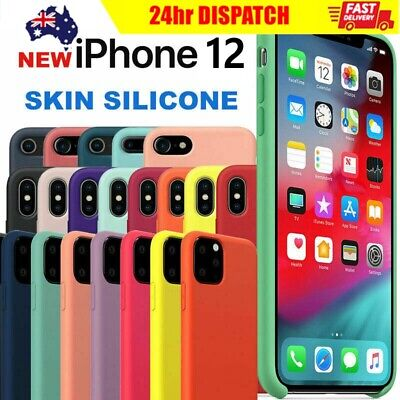 AU9.99 • Buy Silicone IPhone 11 Pro XS Max XS XR X Shockproof Phone Back Cover Case AUS