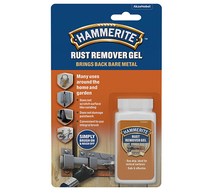 £6.50 • Buy Hammerite Rust Remover Treatment For Nuts Bolts Garden Tools And Metal Objects