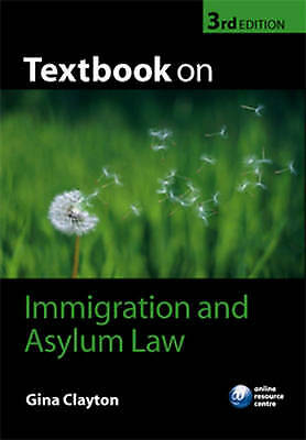 Textbook On Immigration And Asylum Law By Gina Clayton (Paperback, 2008) • 6.60£