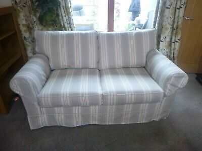 2 Seater Bed Settee Good Condition, Sleeps Two Persons. • 202£