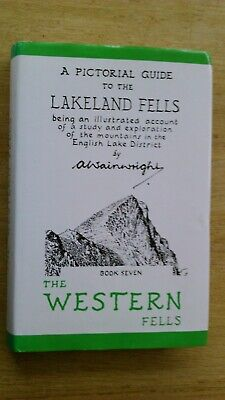 The Western Fells - A Pictorial Guide To The Lakeland Fells By A Wainwright. • 4£