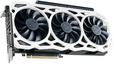 $ CDN1406.91 • Buy RARE - EVGA GeForce GTX 1080 Ti FTW3 ELITE GAMING WHITE RGB LED 11GB GDDR5X