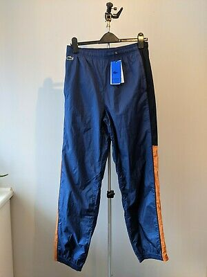 New Lacoste Live Trackie Tracksuit Bottoms - Blue Orange - Size Medium £110 M • 48£