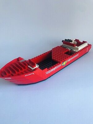 £30.42 • Buy LEGO Town 6542 Launch Load Seaport City Harbor 1991 - Cargo Ship Hull Only