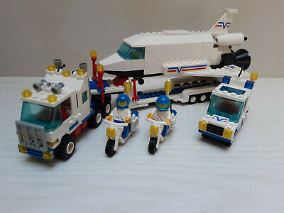 Vintage Lego Town 6346 - Shuttle Launching Crew Complete • 34.99£