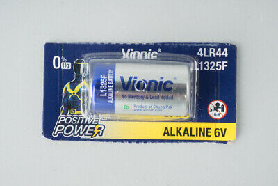 AU9 • Buy Vinnic 4LR44 / L1325F Alkaline 6V Battery A544 PX28, Fr Canon AE-1, A-1, New F-1