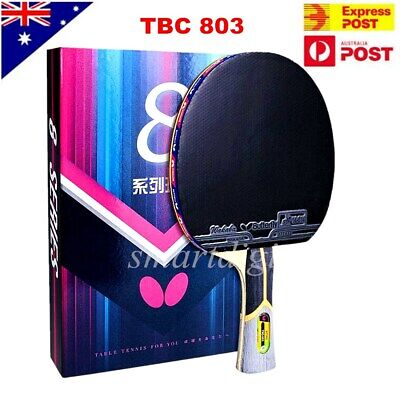 AU149.45 • Buy Butterfly 8-Star 803 Long Handle Table Tennis Racket Ping Pong Bats Shakehand FL