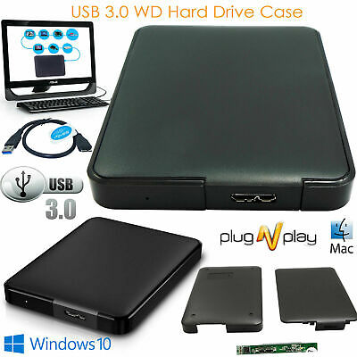 £5.99 • Buy USB 3.0 2.5 Inch Hard Drive Enclosure SATA HDD SSD Caddy Case For LAPTOP PC DVR