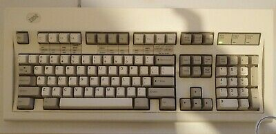 IBM Model M Keyboard 1391401 PS2 Clicky Mechanical Vintage Tactile • 450£