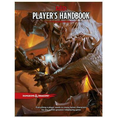 AU59.45 • Buy Dungeons & Dragons D&D Player's Handbook 5th Edition Hardcover Brand New