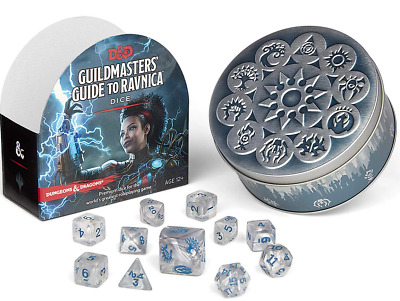 AU37.95 • Buy Dungeons & Dragons - 5th Edition - Guildmasters Guide To Ravnica Dice Set